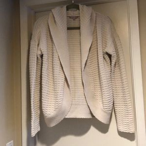 GAP Off White Hoodie Sweater Size Large
